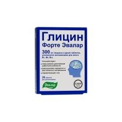 GLICIN FORTE su vitaminais B1, B6 ir B12 N20 300mg(Evalar)