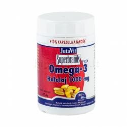 Maisto papildas žuvų taukai OMEGA -3 1000mg JutaVit N30