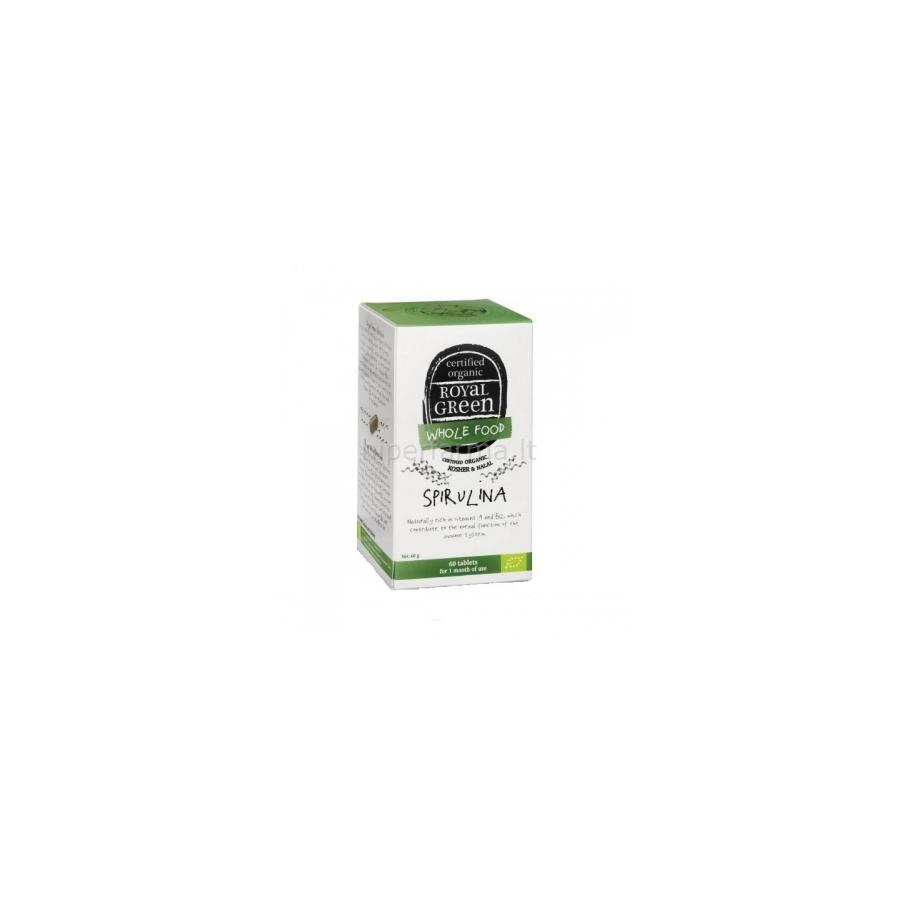 Maisto papildas Spirulina 1000 mg Royal Green Eco N60