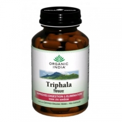 Trifala (60 kapsulių), Organic India