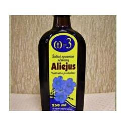 Šaltai spaustas linų sėmenų aliejus 250 ml