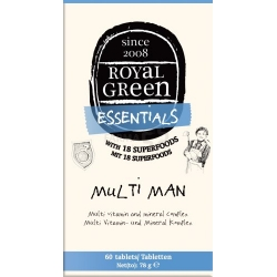 "ROYAL GREEN ""Multi Man"" multivitaminų kompleksas N60"