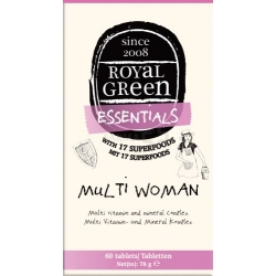 "ROYAL GREEN ""Multi Woman"" multivitaminų kompleksas N60"