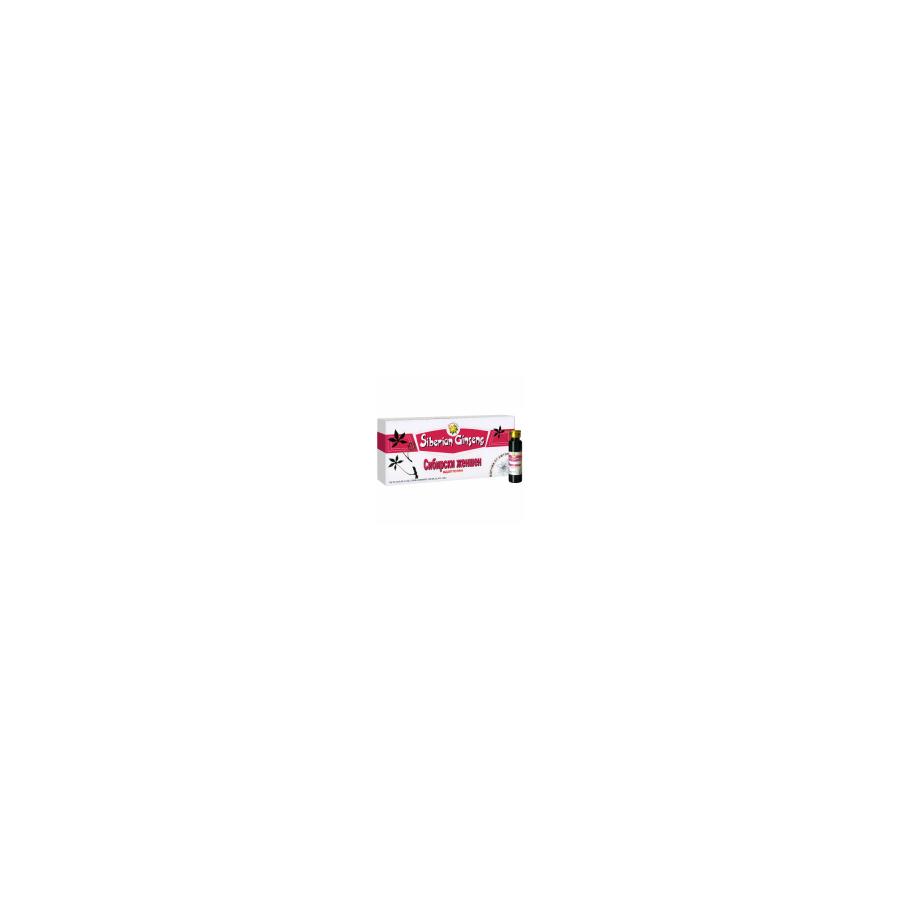 Maisto papildas Sibiro ženšenis (eleuterokokas) 10mlx10